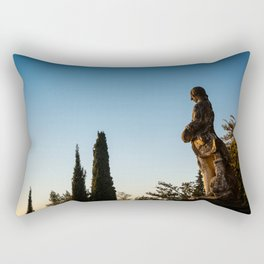 The Observer Rectangular Pillow