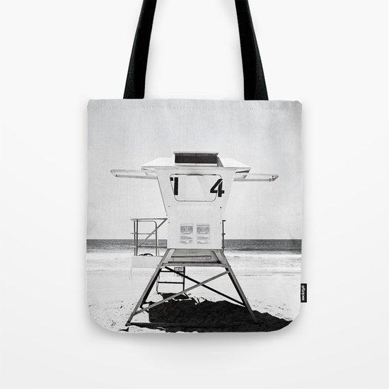 Black and White Beach Photography, Grey Lifeguard Stand, Gray Coastal Nautical Art by carolyncochrane