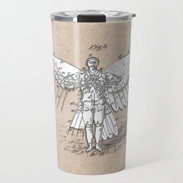 patent art Spalding Flying Machine 2    1889 Travel Mug