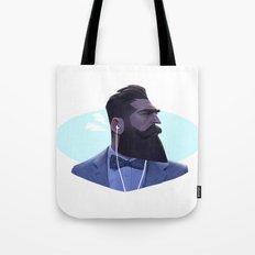 Manly Man Tote Bag