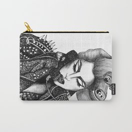 GIRL WITH A TELEPHONE Carry-All Pouch