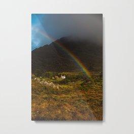 Beara Rainbow  Metal Print