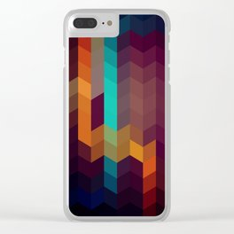 RHOMBUS No4 Clear iPhone Case