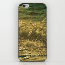 Leaping Falling Rushing #2 iPhone Skin
