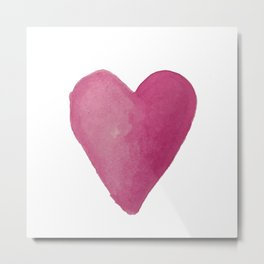 I Heart You Metal Print