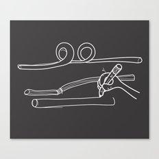 Drawing Straws Canvas Print