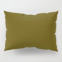 Dark Bronze (Coin) - solid color Pillow Sham
