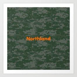 Northland Camo Art Print