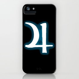 Jupiter Jonze (halftone sigil) iPhone Case