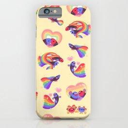 Rainbow guppy 2 iPhone Case
