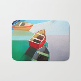 Five Boats Bath Mat