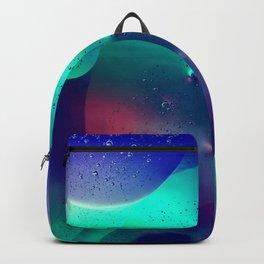 Vibrant Symmetry Oil Droplets Backpack