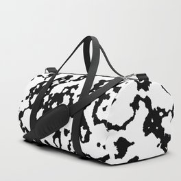 braking up, black and white Duffle Bag
