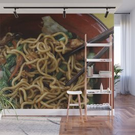 Asia Noodles Wall Mural