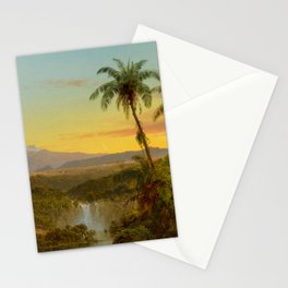 """Frederic Church """"South American Landscape"""" (2) Stationery Cards"""