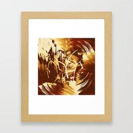 Afrikanische Krieger Framed Art Print