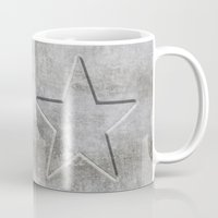solid Mugs featuring Solid Star by LebensART