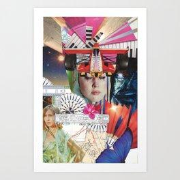 Casio Cries Art Print