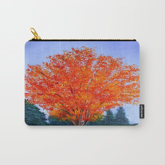 Fall tree in ND Carry-All Pouch