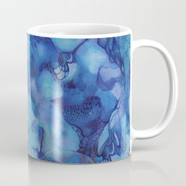 Blue happiness or when you feel blue but not sad Coffee Mug