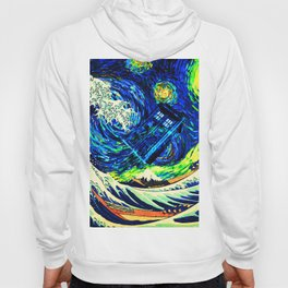 tardis starry night Hoody