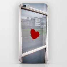 found heart iPhone & iPod Skin