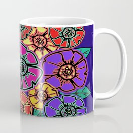 Abstract #462 - Flower Power #13 Coffee Mug