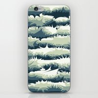 Explosions in the water iPhone & iPod Skin