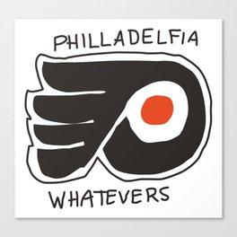 philladelfia whatevers Canvas Print