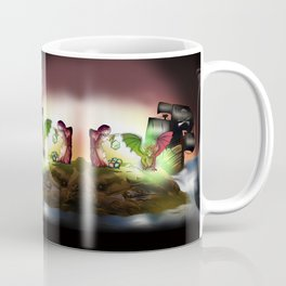 Pirate ship in Sorcerer Cove, for dnd and anime fans Coffee Mug