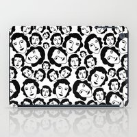 women iPad Cases featuring Women by Emmanuelle Ly