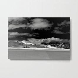 Dramatic Dunes Metal Print