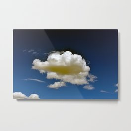 Cloud in the Sky Metal Print