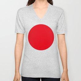 Hinomaru Unisex V-Neck
