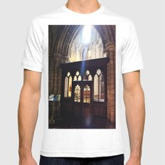 Do You See the Light? Mens Fitted Tee White MEDIUM