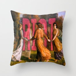 Women's March Throw Pillow