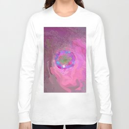 Abstract Mandala 223 Long Sleeve T-shirt