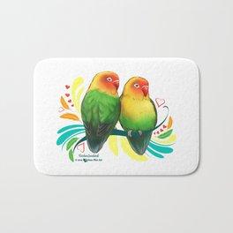 Fischer Lovebirds Bath Mat