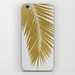 Palm Leaf Gold I iPhone Skin