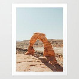 Delicate Arch Art Print