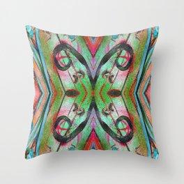 AquaXBox Throw Pillow