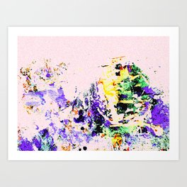 Ephemeral Walk Art Print