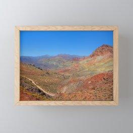Titus Canyon Framed Mini Art Print