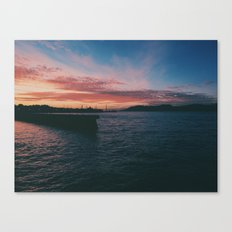 The Bay Canvas Print