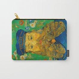 Vincent van Gogh - Portrait of Postman Carry-All Pouch