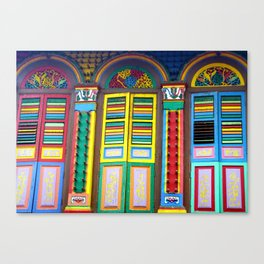 Windows to the World Canvas Print