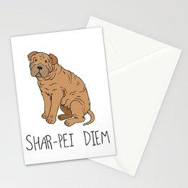 Shar-pei Diem Stationery Cards