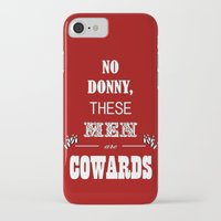 big lebowski iPhone & iPod Cases featuring Cowards (Big Lebowski) by thebuccanear