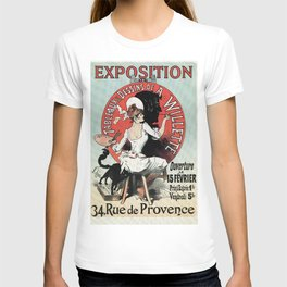 1894 Paris Art Exposition Willette T-shirt