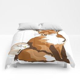 El zorro y la lechuza Comforters